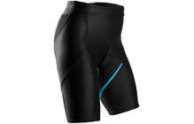 "Sugoi Piston 200 Tri Pkt Short Women 7"" black/cyan"